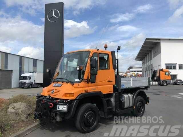 Mercedes-Benz UNIMOG U300 4x4 Hydraulik Standheizung Klima