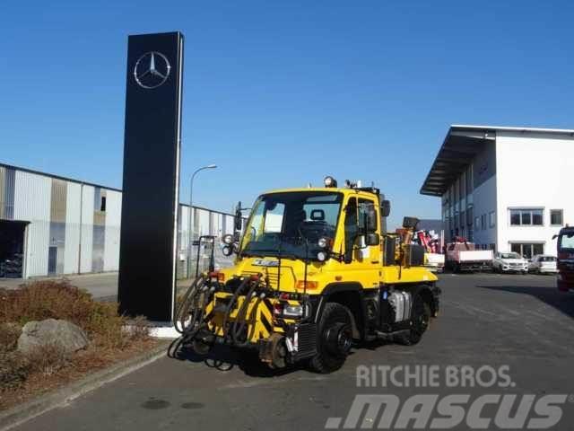 Mercedes-Benz Unimog U400 4x4 2 Wege Zargo 800 Tonnen Bahnzul