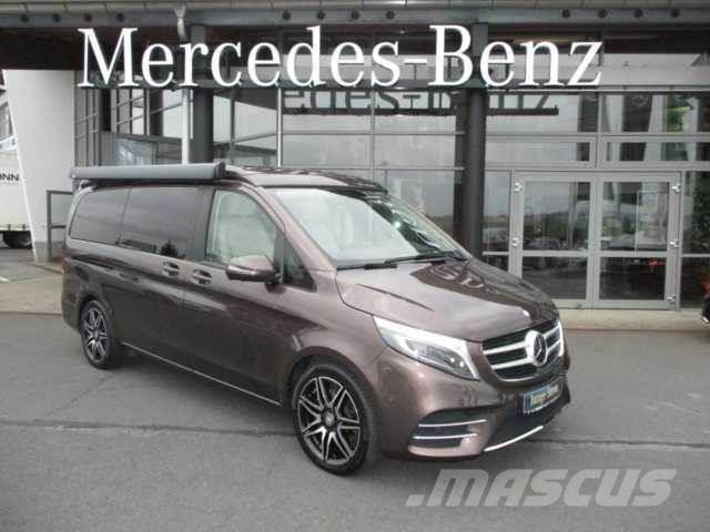 Used mercedes benz v 250 d marco polo amg line 4matic for Mercedes benz product line