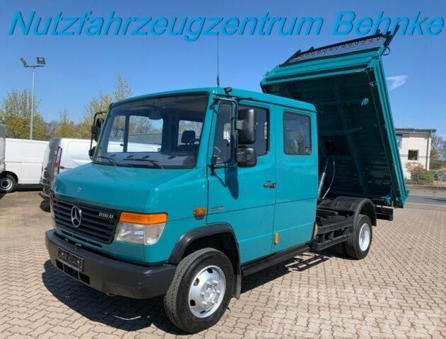 Mercedes-Benz Vario 816 D DoKa Kipper/ AHK 3,5t/ Euro 4