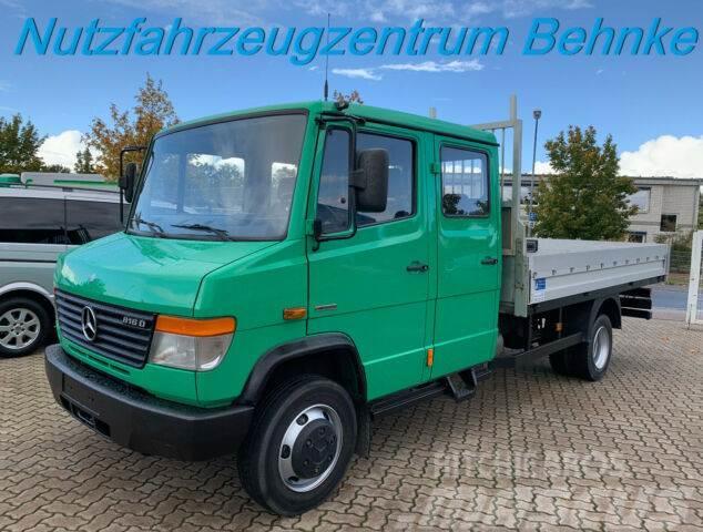Mercedes-Benz Vario 816 D Doka Pritsche 4 Türen Maul-AHK EU5