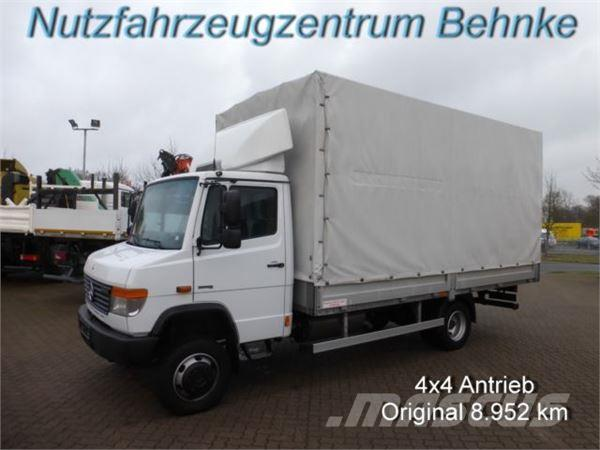used mercedes benz vario 818 d 4x4 pritsche plane kg nl eu 5 curtain side trucks year. Black Bedroom Furniture Sets. Home Design Ideas
