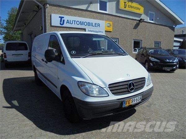used mercedes benz vito 109 2 2 cdi kort panel vans year 2007 price 4 823 for sale mascus usa. Black Bedroom Furniture Sets. Home Design Ideas
