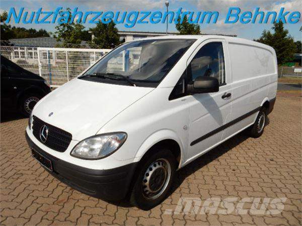 used mercedes benz vito 109 cdi ka lang l2h1 3 sitze cargo paket panel vans year 2010 price. Black Bedroom Furniture Sets. Home Design Ideas