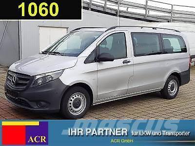 used mercedes benz vito 111 cdi tourer pro lang 9 sitze klima ahk a panel vans year 2016 price. Black Bedroom Furniture Sets. Home Design Ideas