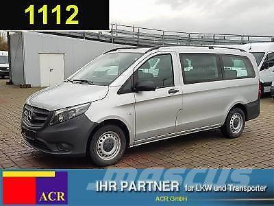 used mercedes benz vito 111 cdi tourer pro lang 9 sitze euro 6 klim panel vans year 2016 price. Black Bedroom Furniture Sets. Home Design Ideas