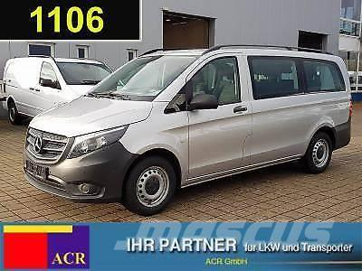 used mercedes benz vito 111 cdi tourer pro lang 9 sitze klima ahk mini bus year 2016 price. Black Bedroom Furniture Sets. Home Design Ideas