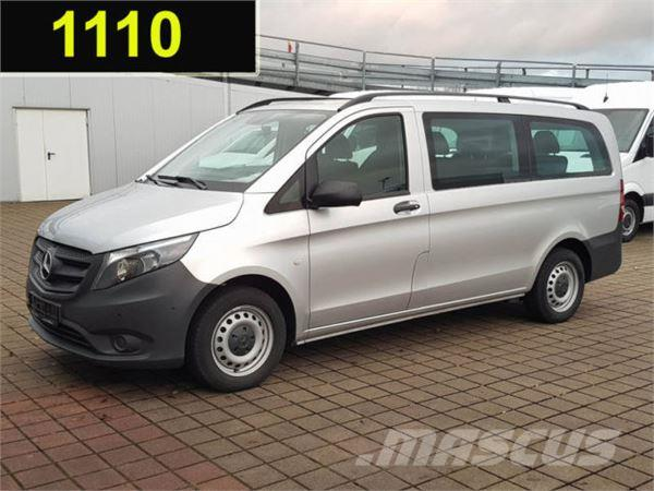 used mercedes benz vito 111 cdi tourer pro lang 9 sitze klima ahk panel vans year 2016 price. Black Bedroom Furniture Sets. Home Design Ideas
