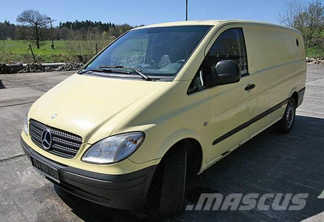 used mercedes benz vito 115 cdi panel vans year 2008 price 4 692 for sale mascus usa. Black Bedroom Furniture Sets. Home Design Ideas
