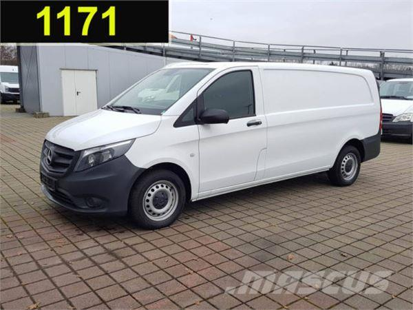 used mercedes benz vito 116 cdi kasten xl klima heckt ren extralan panel vans year 2016 price. Black Bedroom Furniture Sets. Home Design Ideas