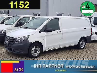 used mercedes benz vito 116 cdi kasten lang klima tempomat panel vans year 2016 price 20 237. Black Bedroom Furniture Sets. Home Design Ideas