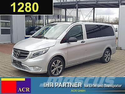 used mercedes benz vito 119 cdi tourer edition l 9 sitze. Black Bedroom Furniture Sets. Home Design Ideas