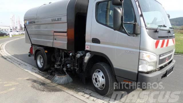 Mitsubishi FAUN R+L HOCHDRUCK KLIMA TÜV Neu TOP