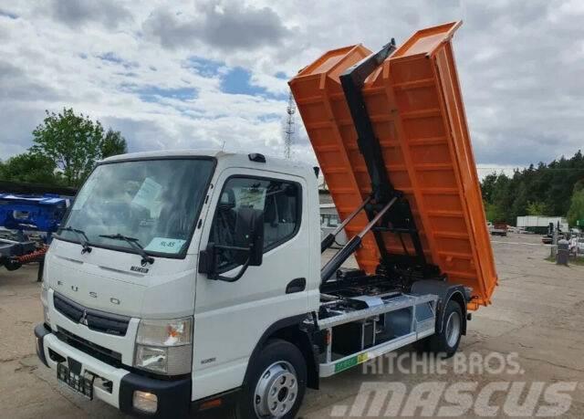 Mitsubishi FUSO CANTER 7C18 Abrollkipper mit Container
