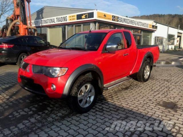 mitsubishi l200 pick up 4x4 intense club cab occasion prix 6 200 ann e d 39 immatriculation. Black Bedroom Furniture Sets. Home Design Ideas