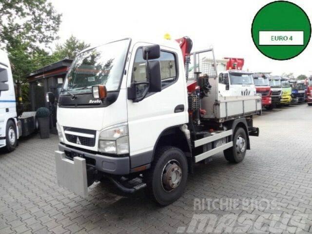 Mitsubishi PFAU REXTER A7500 4X4 KIPPER+KRAN