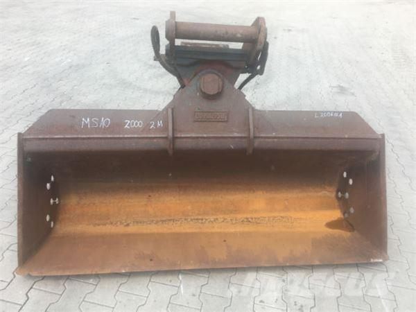 MS 10 2000mm Hydraulisch Lehnhoff