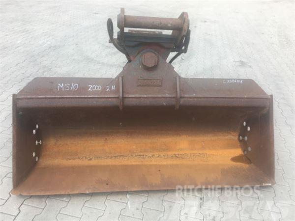 MS 20 2000mm Hydraulisch Lehnhoff
