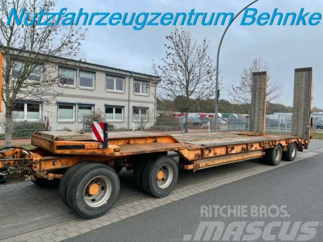 Müller-Mitteltal T4 DF 40.0 /hydrauliche Rampen/verbreiterbar 3m