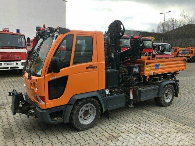Multicar FUMO M30 4x4 Kipper Kran Greifer Winterdienst