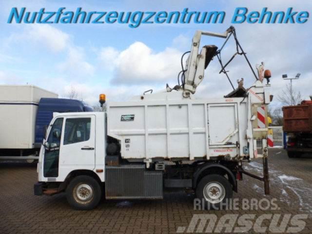Multicar UX 100 RHD Müllpreßfahrzeug 4,7m³/ Hecklader
