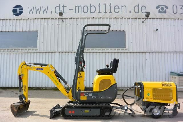 Neuson 803 dual power mit HPU8 MS01
