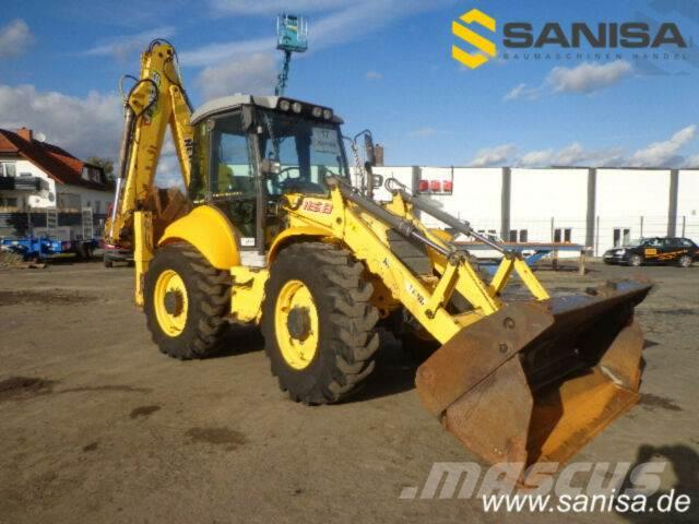 New Holland LB115B-4PS/Baggerlader/4x4x4/9,5T