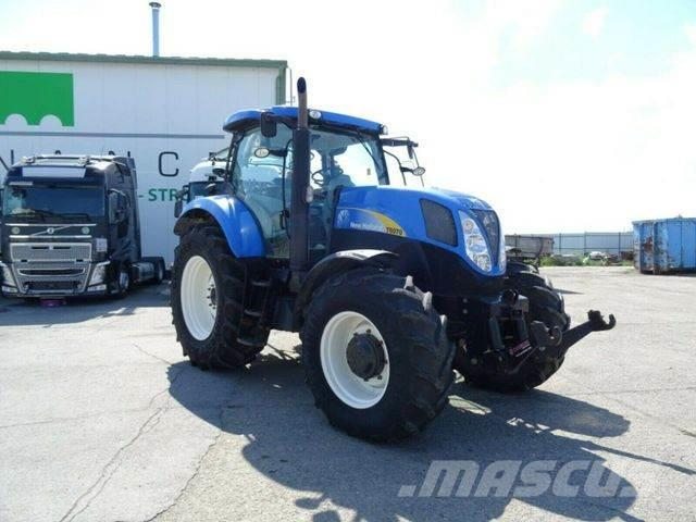New Holland T6070 automatic vin 466