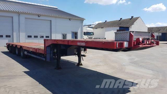 Nooteboom MCO-58-04V Low loader 4-axles 2xExtendable