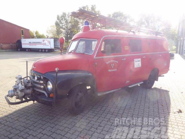 Svært Opel Blitz 1,75 T 330 / LF 8- Löschfahrzeug/ Oldtimer til salg VP-34