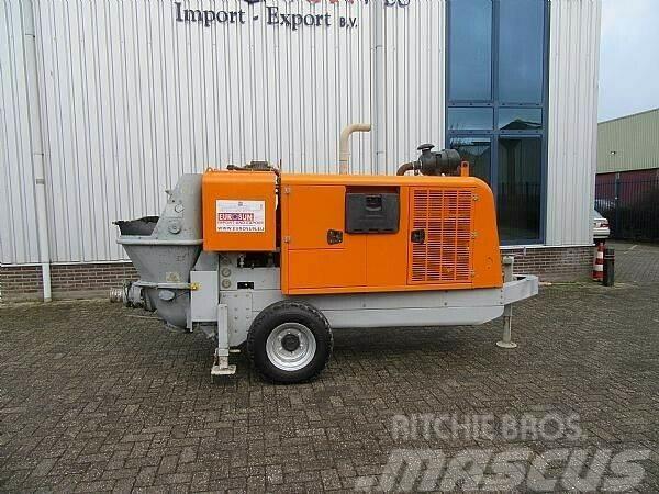 [Other] 2016 CIFA PC 607/411 D6 trailer pump
