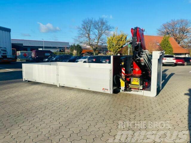 [Other] Abrollcontainer mit Ladekran Fassi F135