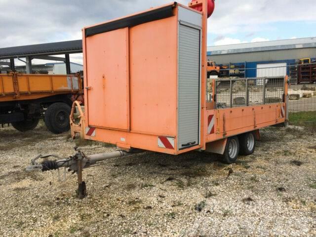 [Other] Roeger Tiefladeanhänger 2000 kg Gerätetransporta