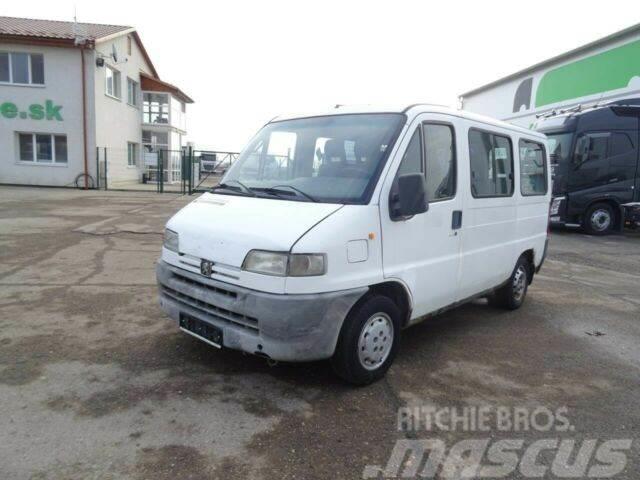 Peugeot BOXER 2,5 TURDO D, minibus 9seats, vin 153