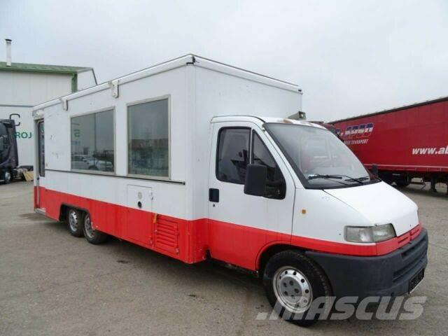 Peugeot BOXER driving meat shop, vin 989
