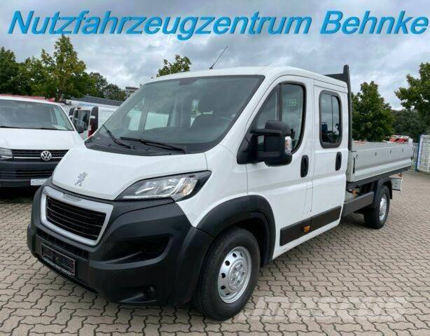 Peugeot Boxer L4 Doka Pritsche/120kw/7 Sitze/ Klima/EU6