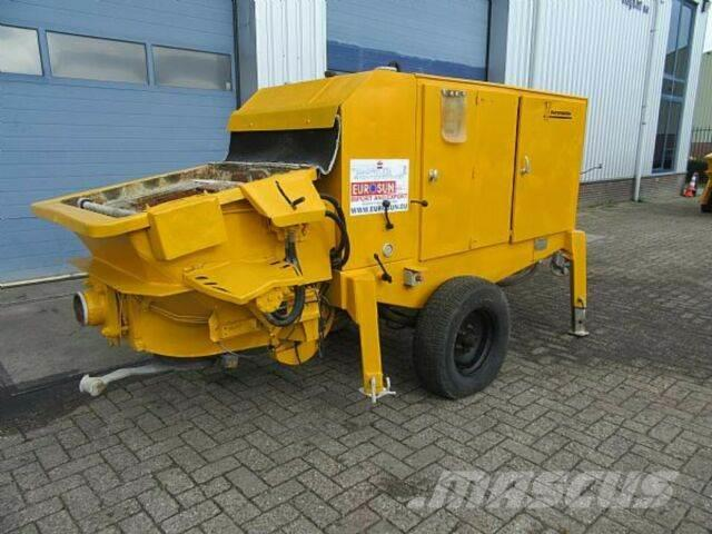 Putzmeister concrete pump BSA 1005 D /2004