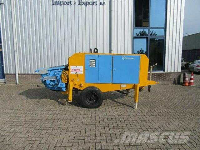 Putzmeister concrete pump BSA 1005