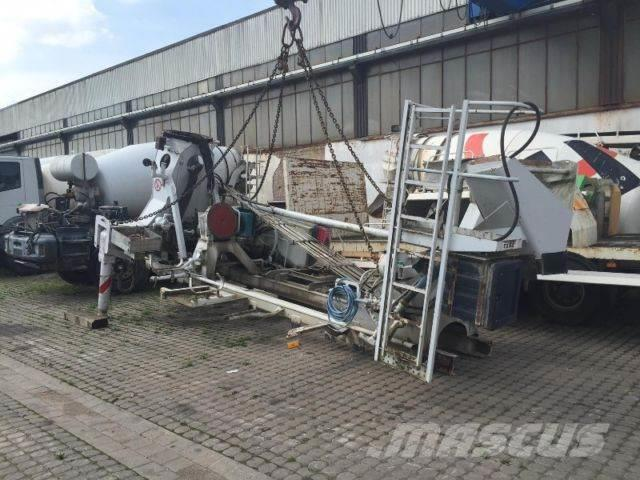 Putzmeister Pumpe Aufbau 21m