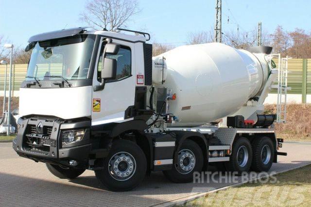 Renault C430 8x4 / EuroMix MTP 9m³ L