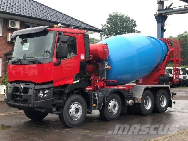 Renault C480 8x4 / EuroMix MTP 10m³ L