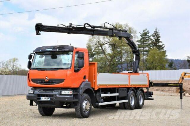 Renault Kerax 370 DXI* HIAB 166 B-3 HIDUO+FUNK /6x4