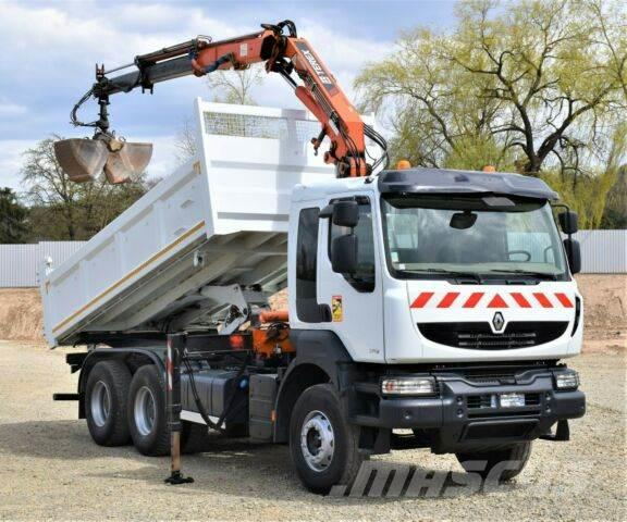 Renault KERAX 370 DXI* TERREX ATLAS 120.2E-A2L+ FUNK*6x4