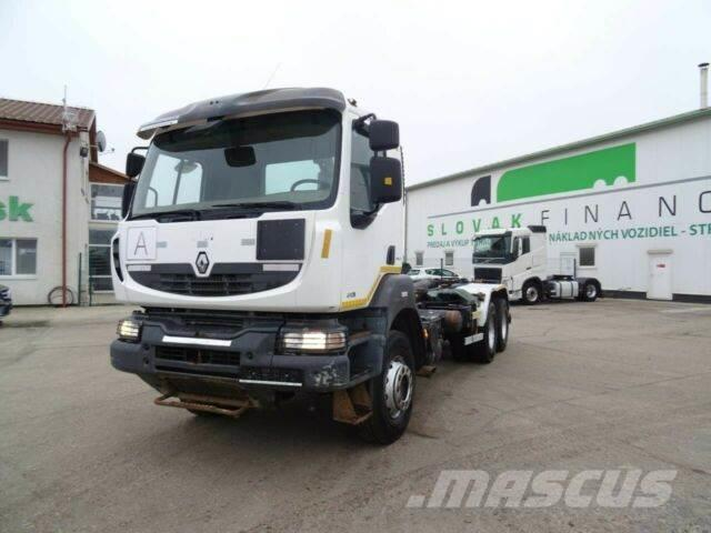 Renault KERAX 410 6x4 manual E4 for containers vin 832