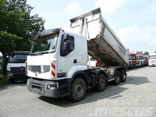 Renault Lander 460 8X4 Schmitz Mulde