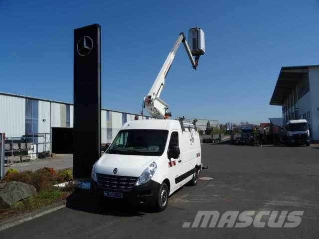 Renault Master 125 DCI Kastenwagen+Hubsteiger ET-29-LEX