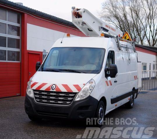 Renault Master 125dci Arbeitsbühne 14m 200kg Korb TÜV!