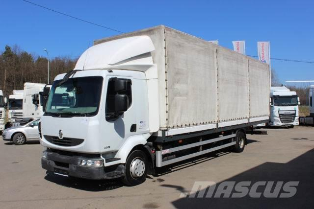 Renault MIDLUM 220.12 P 4x2 , WHEELS 70%