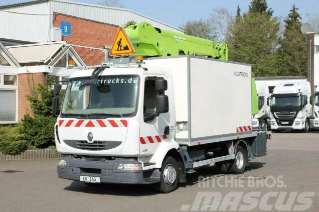 Renault Midlum 220 Bühne 182CPM 18m/2P.Korb 265kg/Klima
