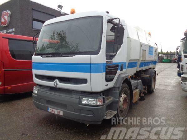 Renault Premium 210 scarab sweeper